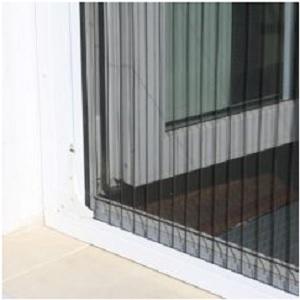 Снятие размеров пластикового окна под москитную сетку плиссе - 1